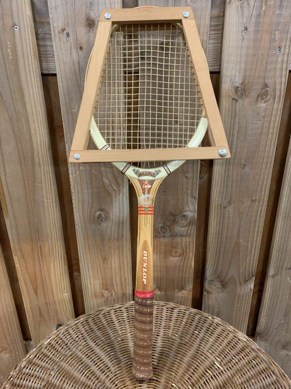 Vintage Dunlop racket.